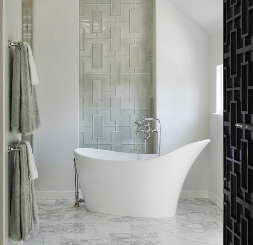 Salle bain design trendy rnovation de salle de bain porte for Vitre de salle de bain