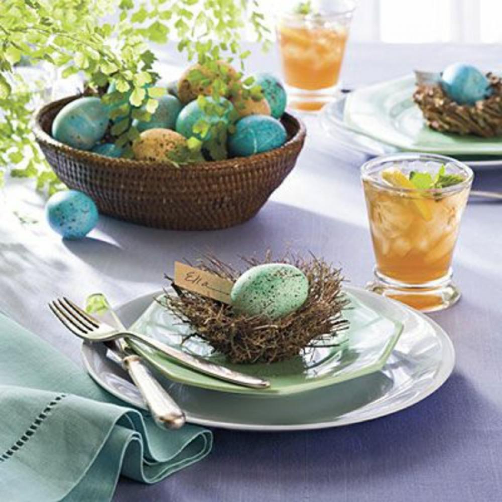 idées de décoration de table pour Pâques