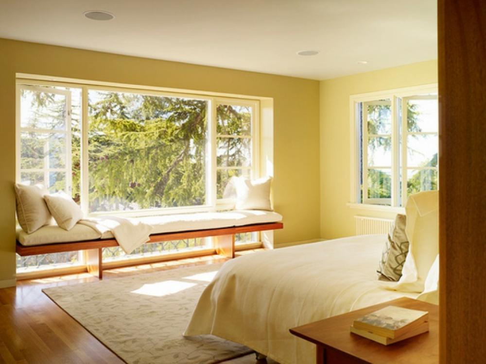 Superieur Window Seat Ou Lu0027aménagement Chambre à Lu0027ambiance Douillette. Aménagement  Chambre Idées Déco