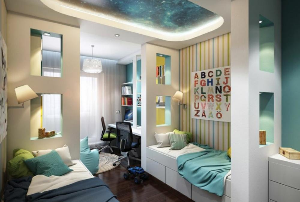 Am nagement chambre d enfant dans un appartement design feria for Amenagement chambre