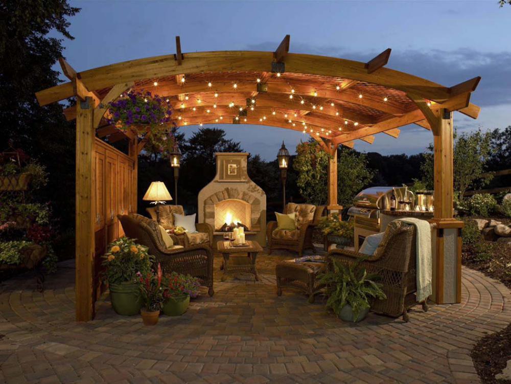 Salon de jardin design feria for Amenagement salon de jardin