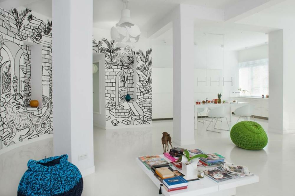 Captivant Bel Appartement Moderne Au Design Intérieur Très Créatif