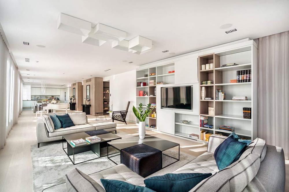 bel appartement au design élégant et luxueux