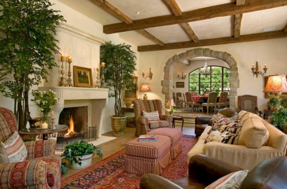 Vieille maison de campagne interieur - Deco cheminee interieur ...