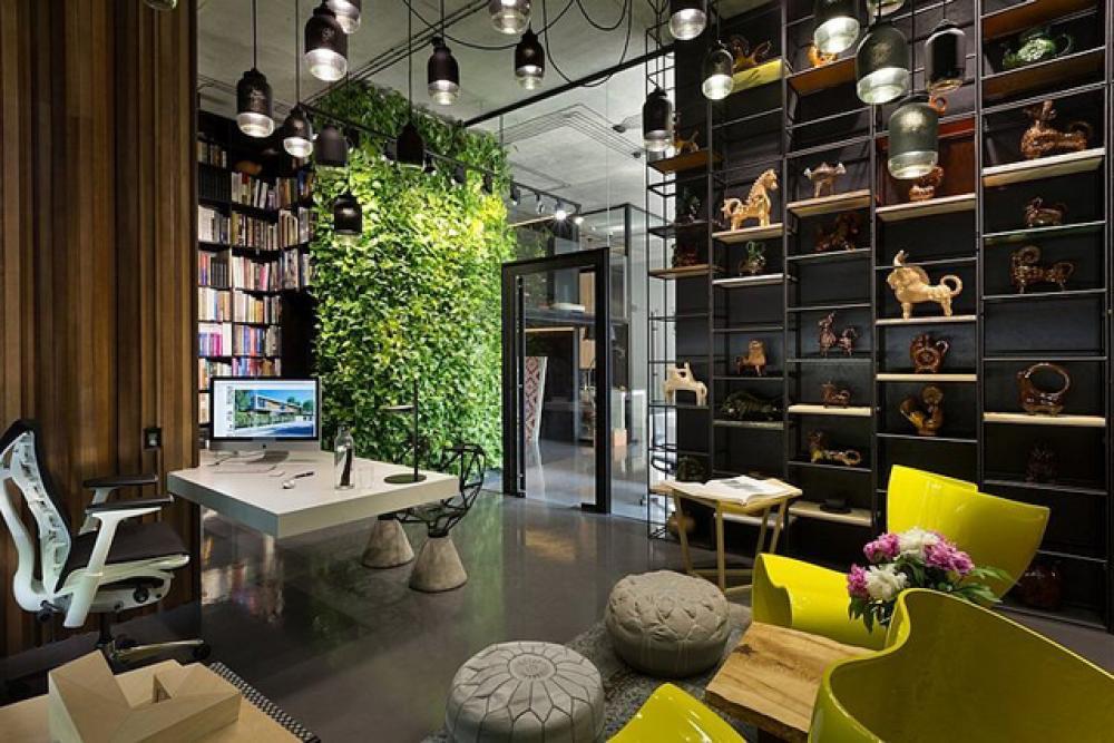 Bureau design pour des agences de conceptions cr atives design feria - Stijl asiatique ...