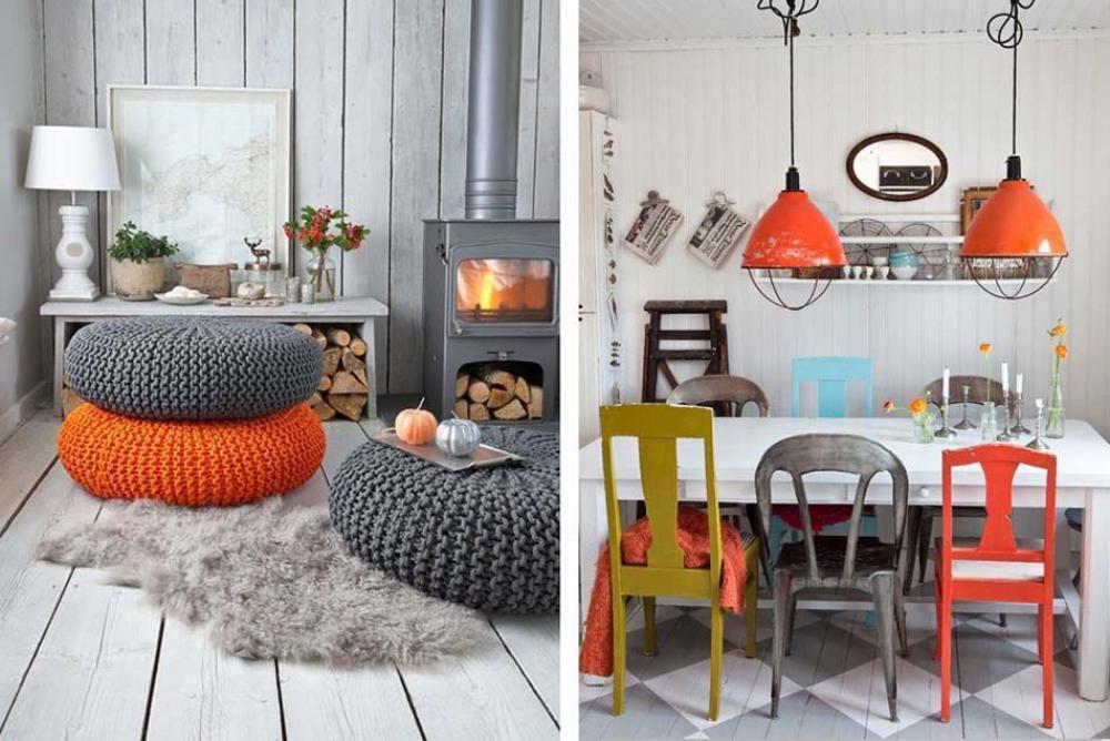 Les chaises d pareill es qui gayent l ambiance de la salle manger moderne design feria for Acheter des chaises de salle a manger pour deco cuisine