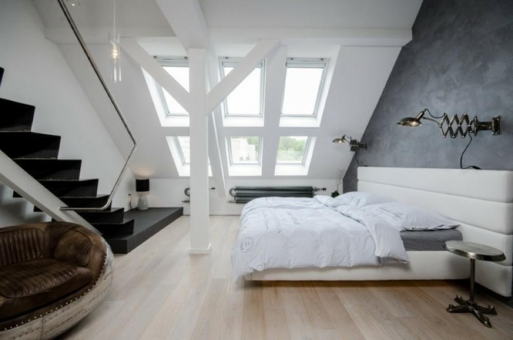Aménagement des combles pour une jolie chambre sous toit | Design ...
