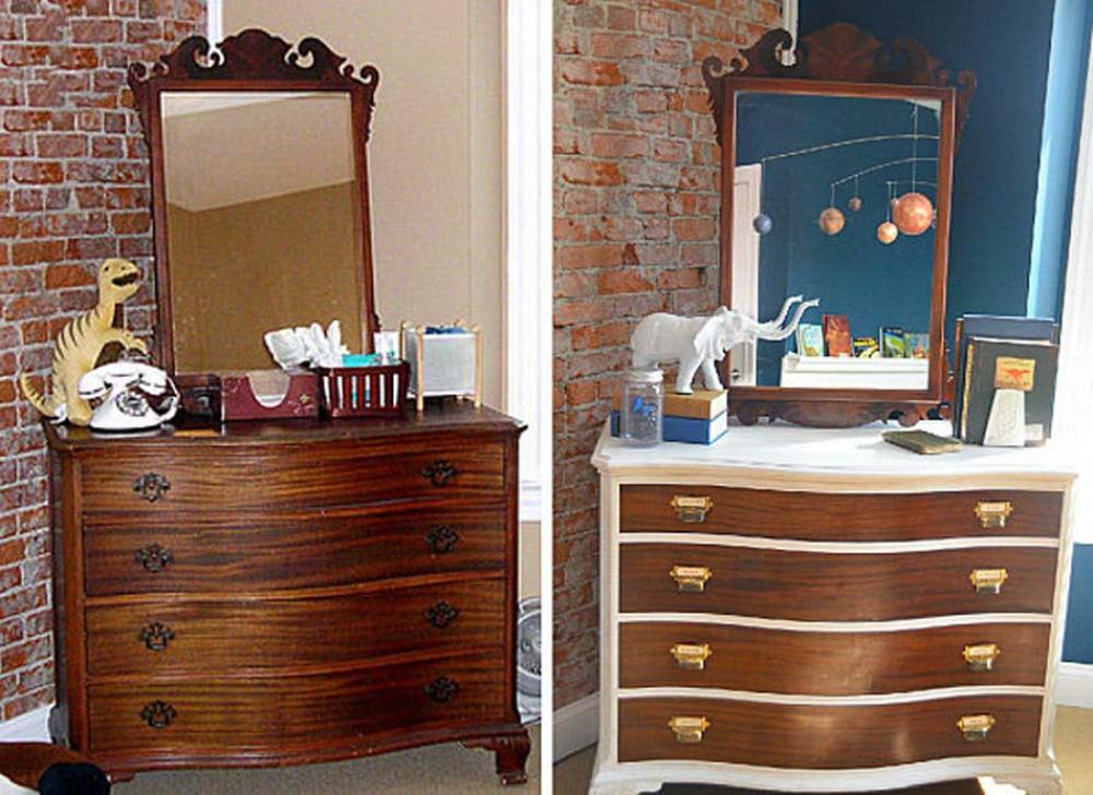 Relooker armoire ancienne interesting formidable comment - Relooker ses meubles anciens ...