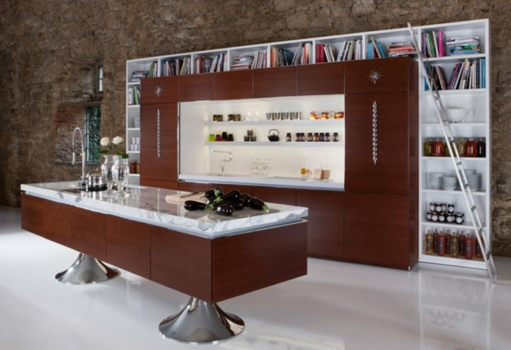 Cuisine design contemporain sign philippe starck design feria - Cuisne design ...