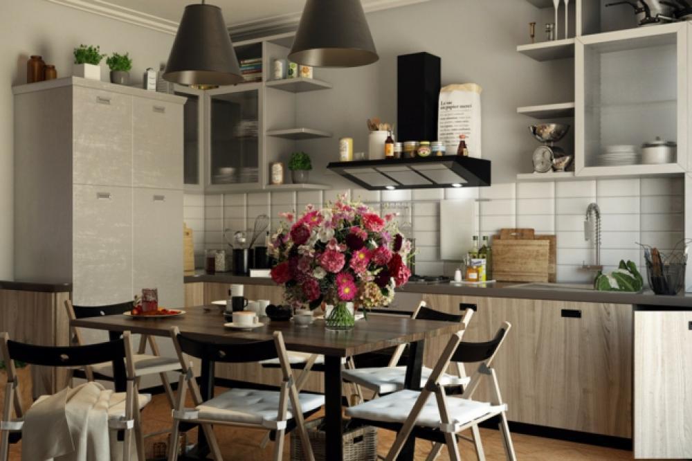 Meuble Chambre Bebe Ikea : Cuisine moderne à l'ambiance familiale
