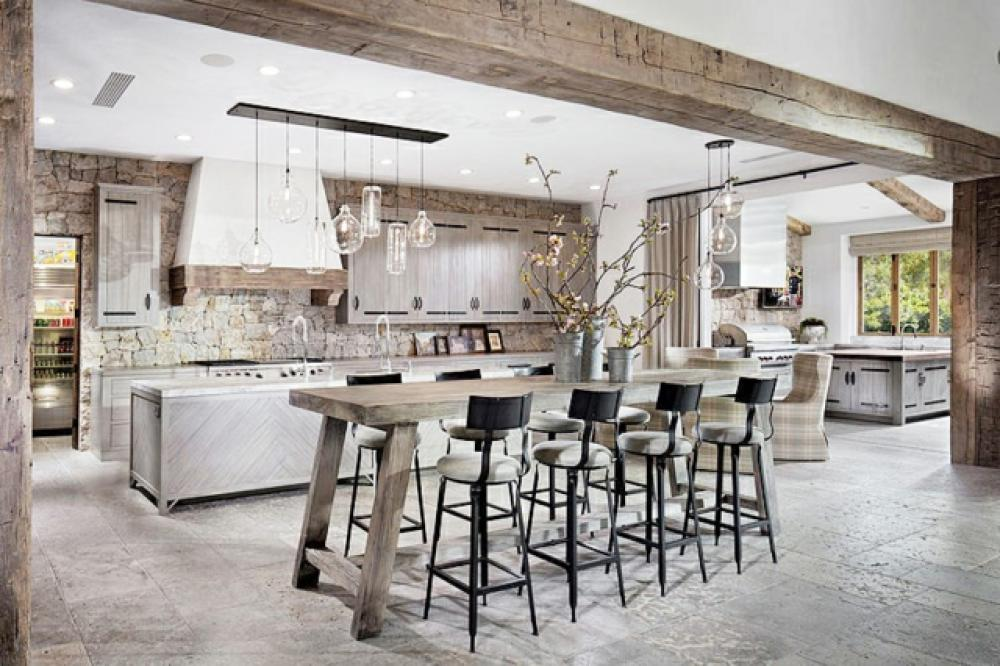 Genial Cuisine Moderne Design Contemporaine Rustique