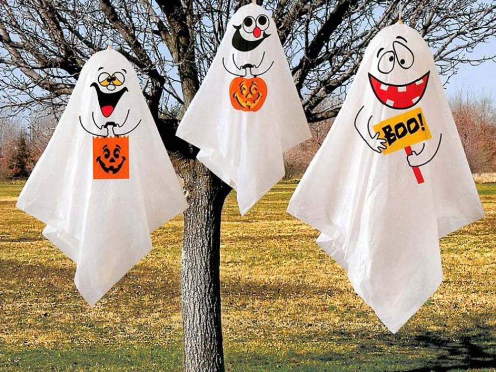 17 id es de d co halloween faisant revivre les fant mes du - Halloween decoration a faire soi meme ...