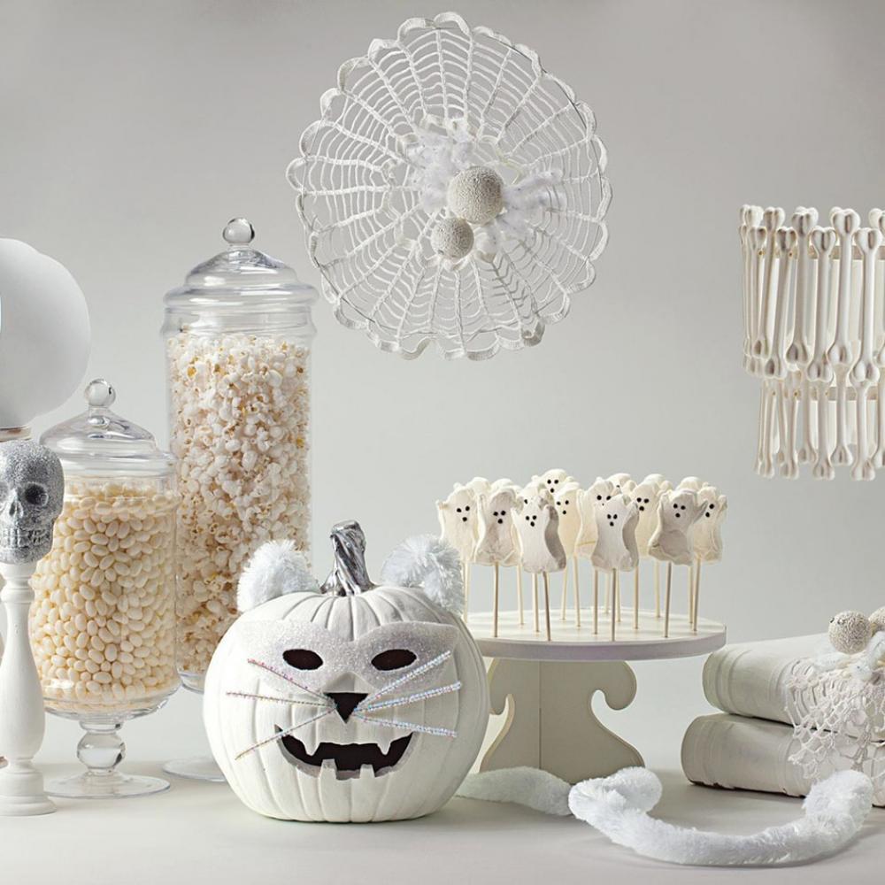 idées decoration Halloween maison chic