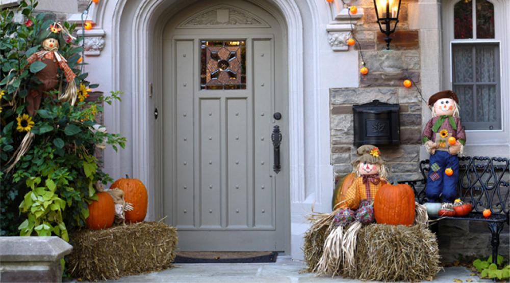 D coration halloween originale et cr ative design feria for Entree maison exterieur originale