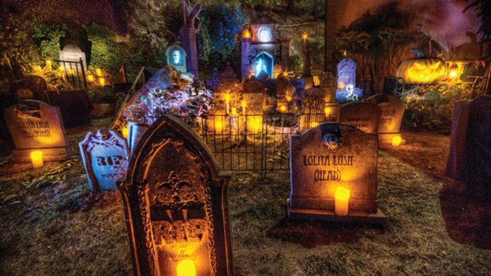 Merveilleux Décoration Macabre Tombes Bougies Idées Halloween