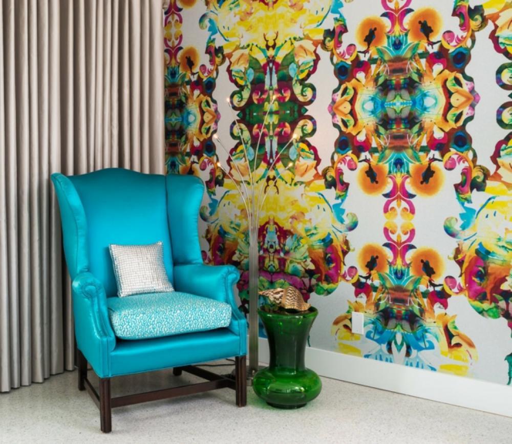 Design int rieur inspir par des murs aux dessins cr atifs for Design d interieur dessin