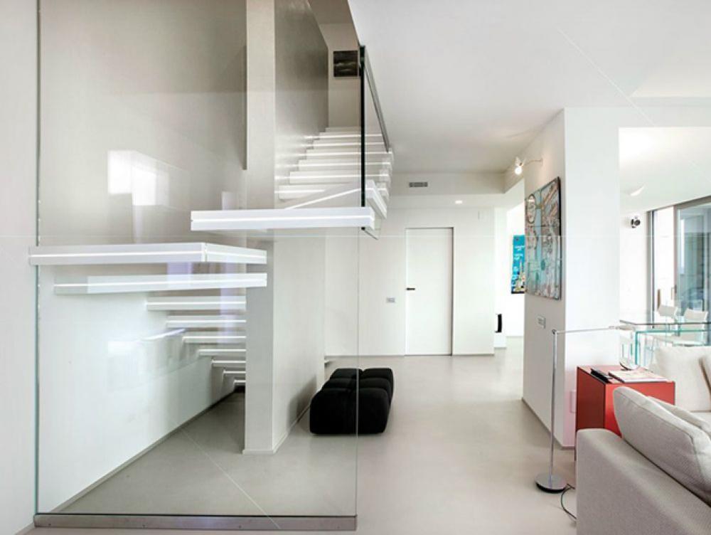 Escalier Design Lumineux Par Luxio