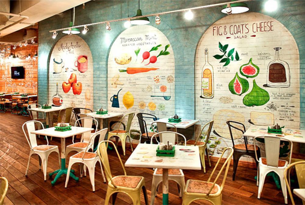 obed buffet un restaurant design inspir par la nature design feria. Black Bedroom Furniture Sets. Home Design Ideas