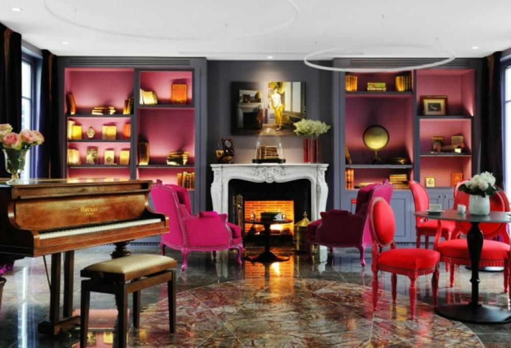 H tel boutique au design unique la belle juliette for Hotel couple paris