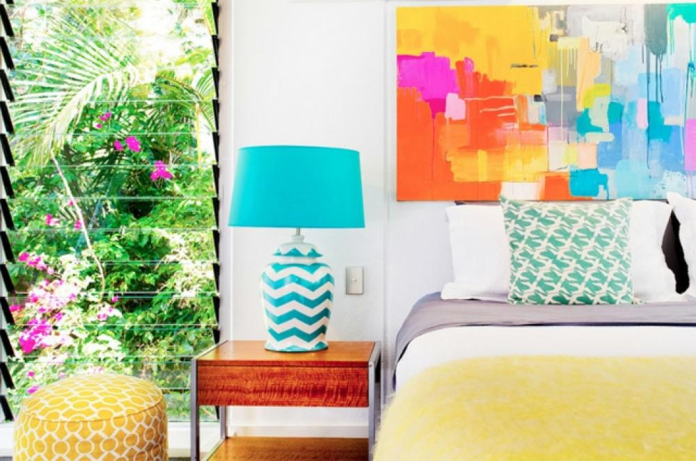décoration design chambre à coucher idées déco