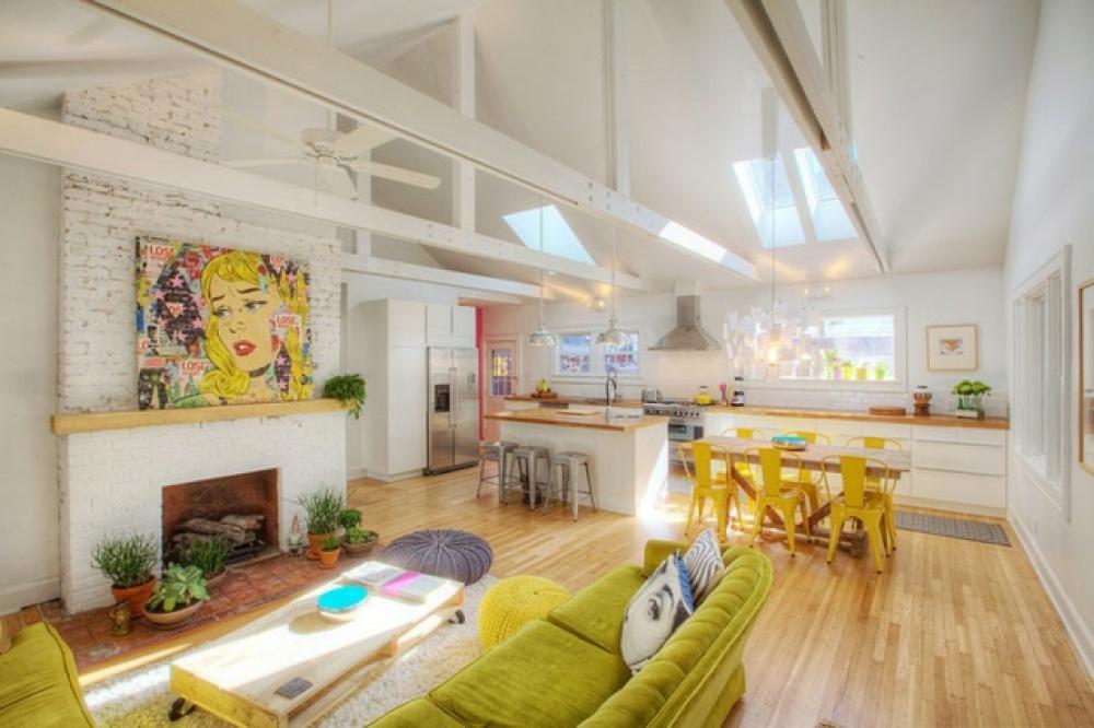 Id es d co pour un s jour personnalis et clectique design feria - Deco maison original ...