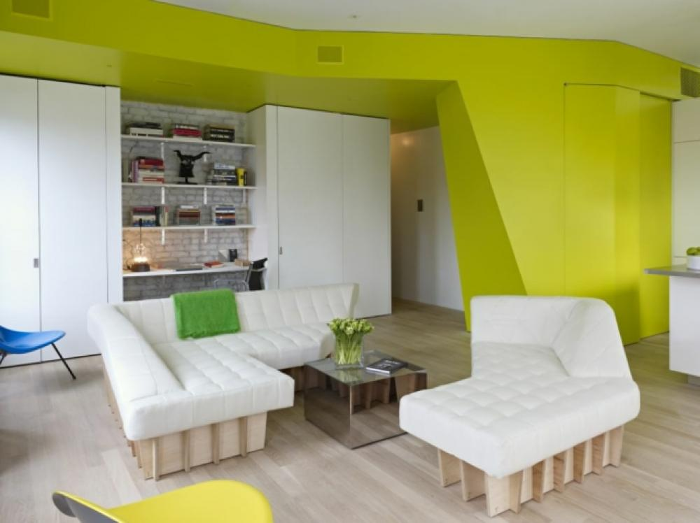 Ancien appartement t transformé en un loft design industriel