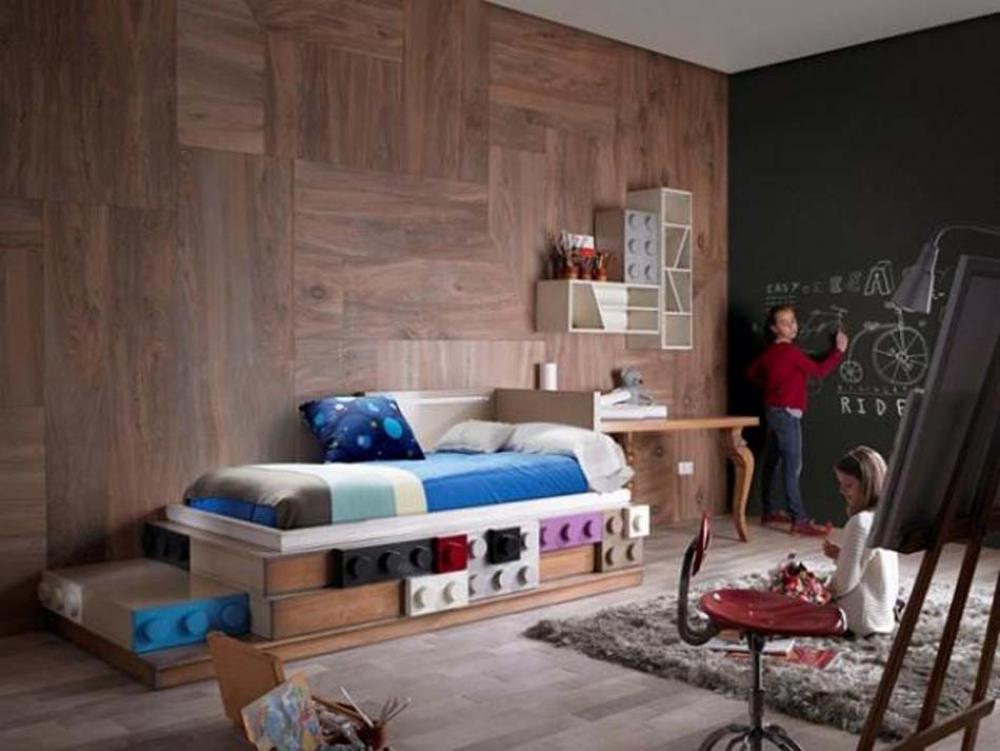 Chambre enfants design feria for Ameublement design