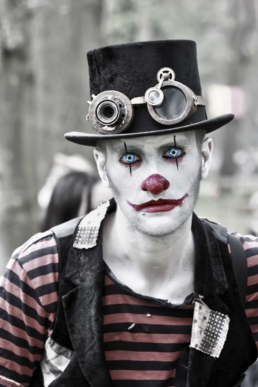 Maquillage Halloween Facile Homme