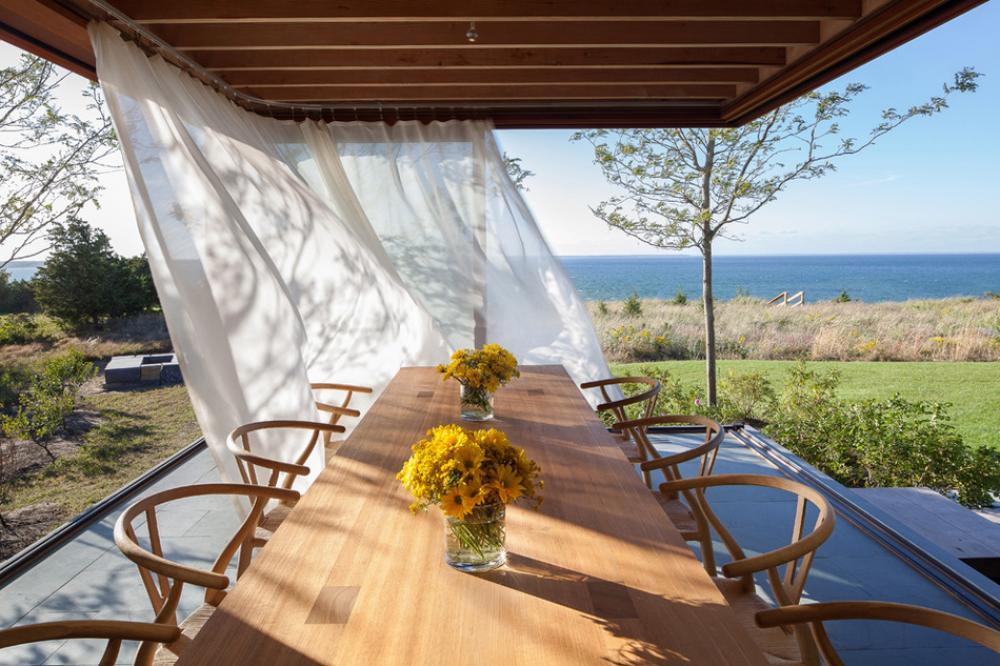 Recevoir en plein air ou l'outdoor living