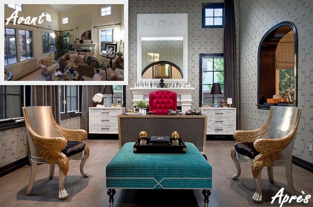 12 exemples avant apr s pour un relooking maisons. Black Bedroom Furniture Sets. Home Design Ideas