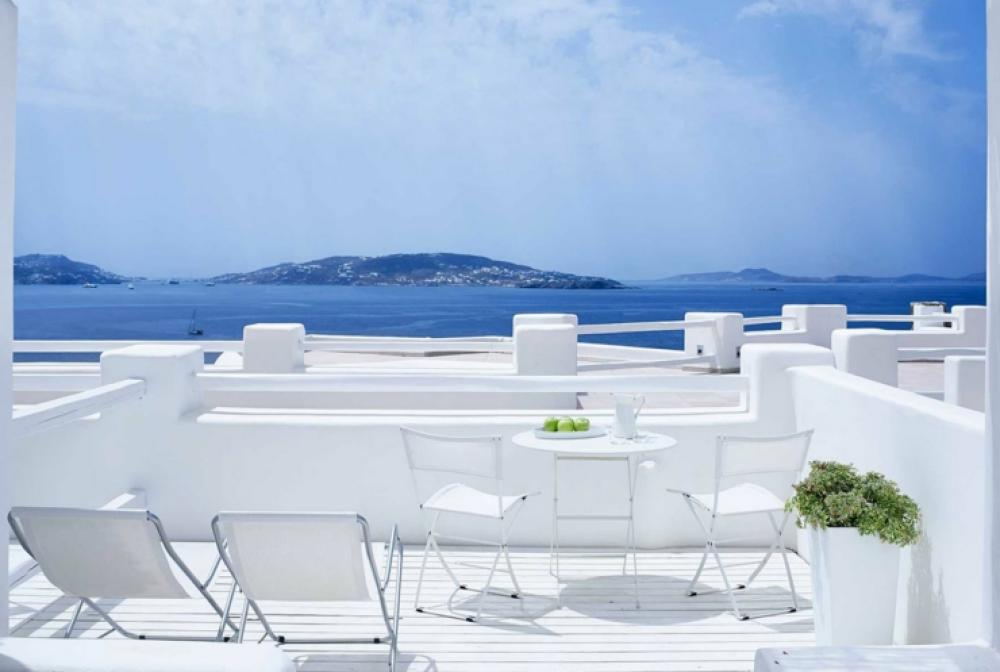 bel hôtel spa prestations luxueuses Mykonos