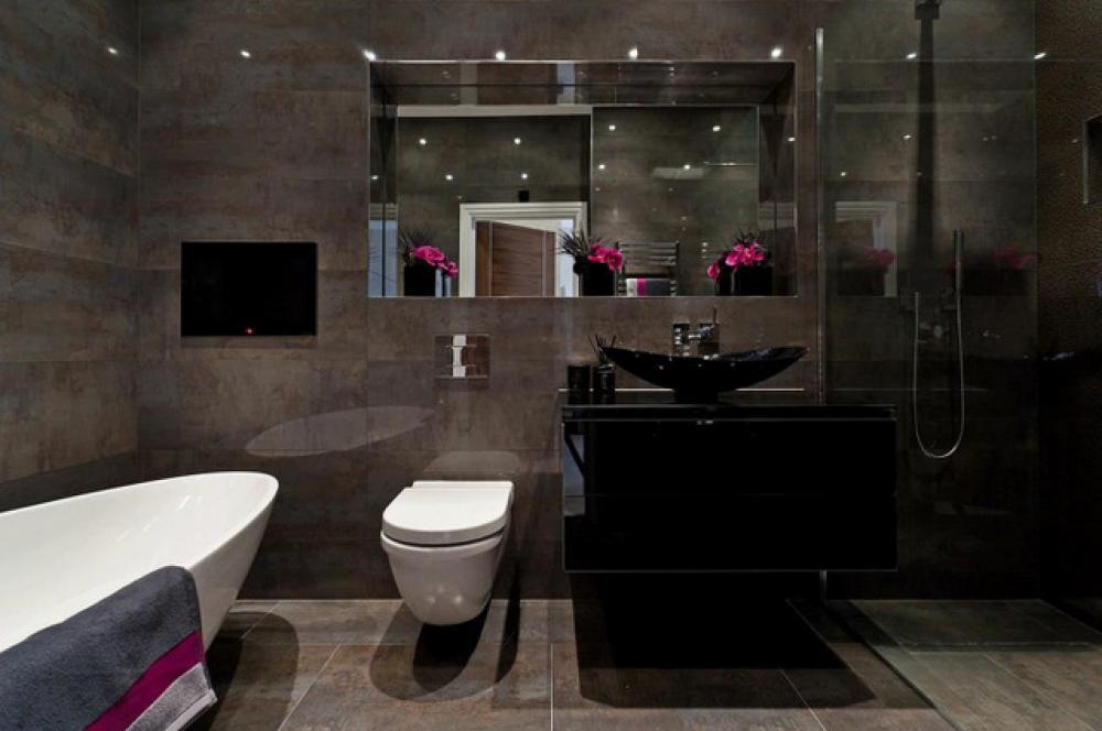 emejing couleur salle de bain moderne photos matkin info - Couleur Salle De Bain Moderne