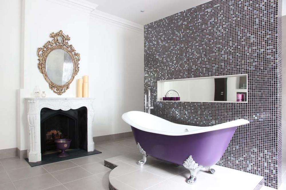 baignoire couleur salle de bain design Baignoire