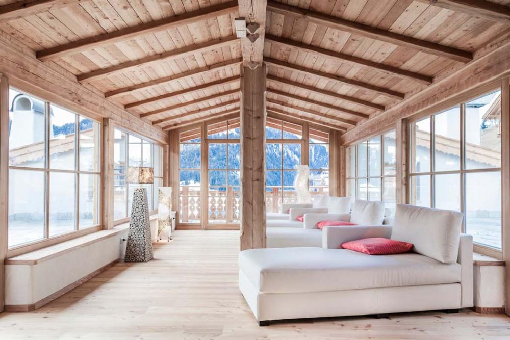 design rustique hôtel élégant luxe