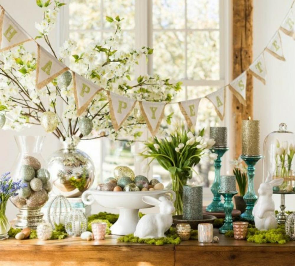 Attrayant Idées De Décoration De Table Spéciale Pâques