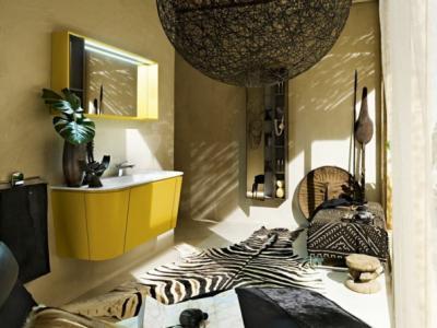 ameublement salle de bain déco africiane