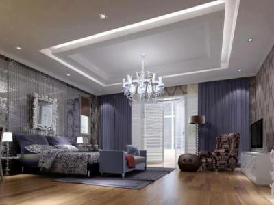 Chambre à l'ambiance luxe