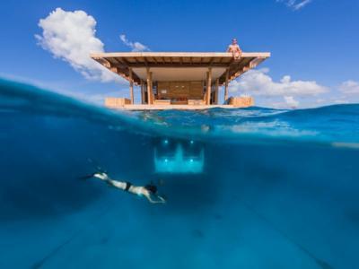 Chambre sous-marine en Afrique