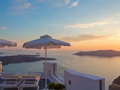 Terrasse à la vue magnifique sur la mer