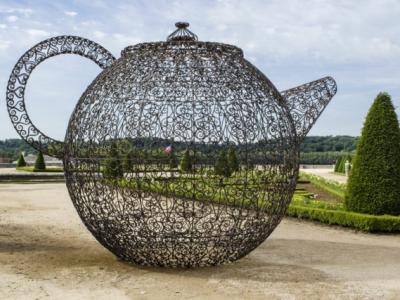 œuvre d'art contemporain pavillon de thé par joana vasconcelos