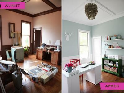 Vue générale avant et après la rénovation