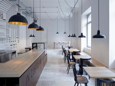 intérieur concept design café bistro