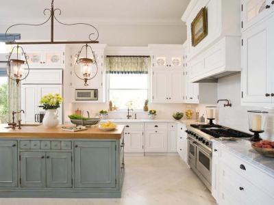 cuisine bicolore design classique traditionnelle