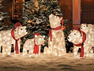 déco pour l'extérieur de la maison Noël