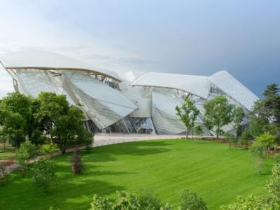 architecture contemporaine moderne fondation Louis Vuitton
