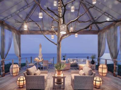 Aménagement terrasse ambiance romantique
