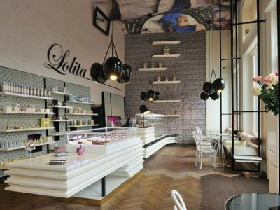 ambiance classe et chic coffee shop moderne
