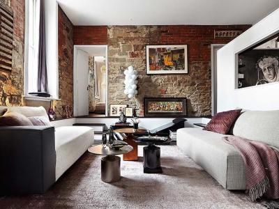 décoration intérieure éclectique appart de ville loft