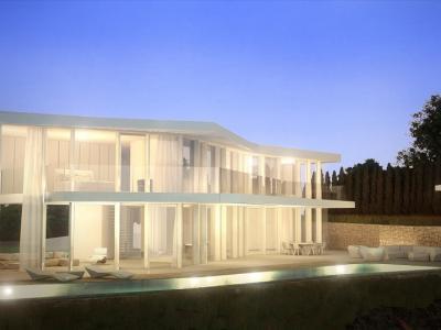 Belle maison d'architecte sur la côte