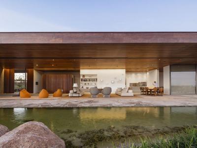résidence d'architecte design luxe